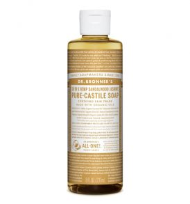 Dr Bronners - Liquid Castile Soap Sandalwood & Jasmine 237ml 01