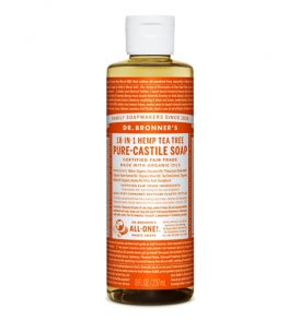 Dr Bronners - Liquid Castile Soap Tea Tree 237ml 01