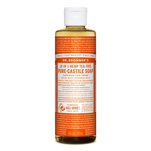 Dr Bronners – Liquid Castile Soap Tea Tree 237ml image by Love Thyself Australia