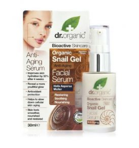 Dr Organic - Facial Serum Snail Gel 30ml