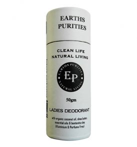 Earths Purities – Ladies Push Up Deodorant 50g 01