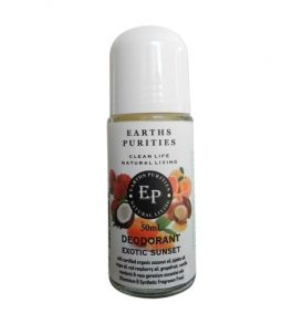Earths Purities – Ladies Exotic Sunset Deodorant 50g 01