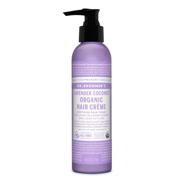 Dr Bronners – Organic Hair Creme Lavender Coconut 177ml image by Love Thyself Australia
