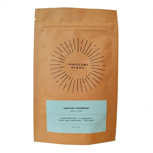 Innocent Beans – Peppermint Herbal Coffee 100g 01