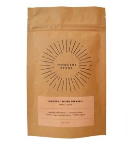 Innocent Beans – Spiced Turmeric Herbal Coffee 100g 01