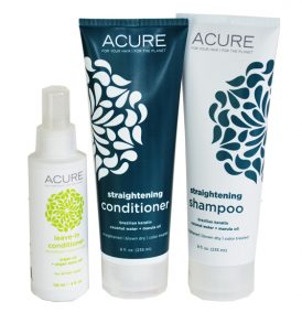 30 Acure Straightening Hair Pack