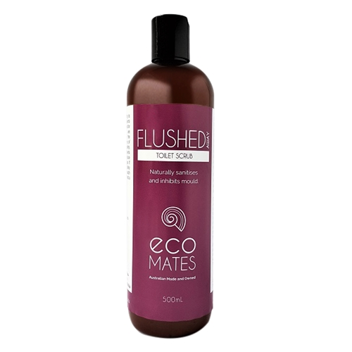 Eco Mates - Flushed Away Toilet Scrub 500ml 01