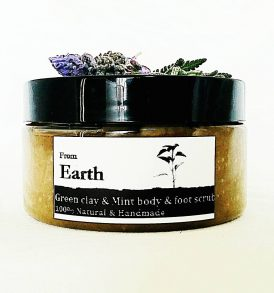 Image of Mint & Green Clay- Body & Foot Scrub by Love Thyself Australia