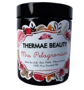 Image of Thermae Beauty – Mrs. Pelagronium Dead Sea Bath Salt 145g by Love Thyself Australia