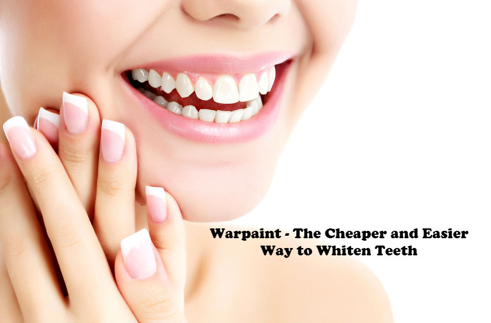 Warpaint - The Cheaper and Easier Way to Whiten Teeth image by Love Thyself