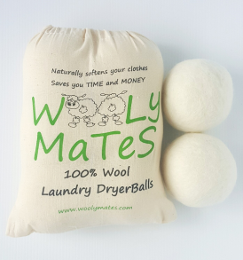 Wooly Mates Laundry Dryer Balls 6 pack