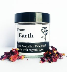 Image of From Earth – Organic Rose And Australian Pink Clay Face Mask by Love Thyself Australia