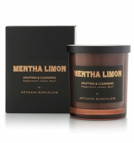 Artisans Bungalow - Mentha Limon Essential Oil Candle 01