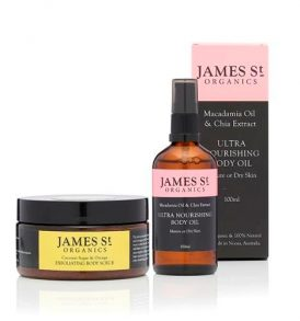 Image of James St Organics Bodylicious Duo – Body Oil & Scrub by Love Thyself Australia