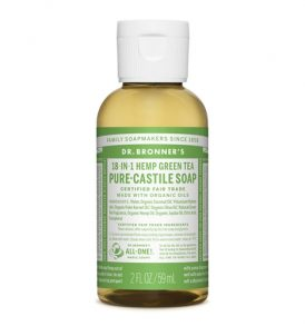 Image of Dr Bronners – Liquid Castile Soap Green Tea 59ml by Love Thyself Australia