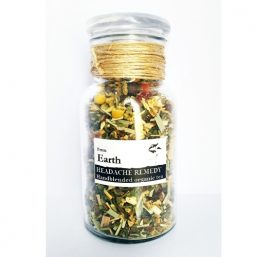 Image of From Earth – Organic Medicinal Tea – Headache Remedy 80g by Love Thyself Australia