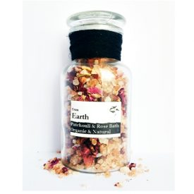 From Earth - Organic Rose & Patchouli Bath Salts 200g 01