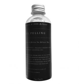 Image of Vegan Organics – Organic Coconut & Peppermint Oil Pulling Oil 100ml by Love Thyself Australia