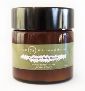 Verissima Natural Skincare - Arabesque Body Butter 250ml 01