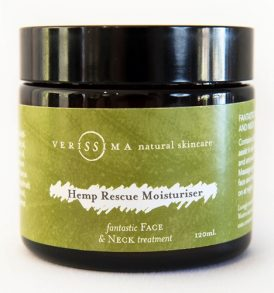 Verissima Natural Skincare - Hemp Rescue Moisturiser 120ml 01