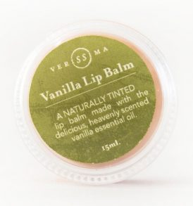 Verissima Natural Skincare - Vanilla Lip Balm 15ml 01