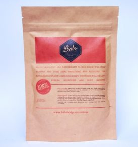 Image of Babs Bodycare Coffee and Cacao Body Scrub 200g by Love Thyself Australia