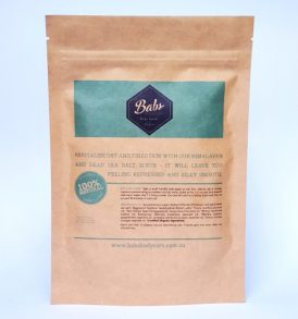 Image of Babs Bodycare Detoxifying Body Scrub 200g by Love Thyself Australia