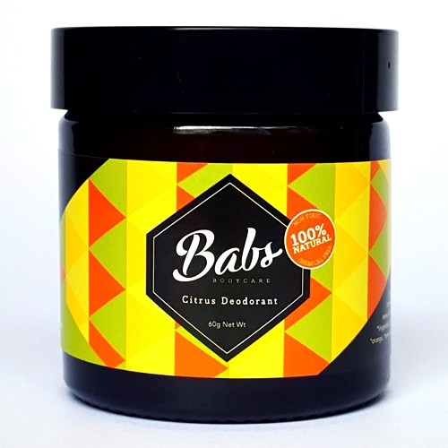 Image of Babs Bodycare – Natural Citrus Deodorant 60g by Love Thyself Australia