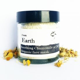 From Earth - Organic Chamomile Soothing Face Mask 01