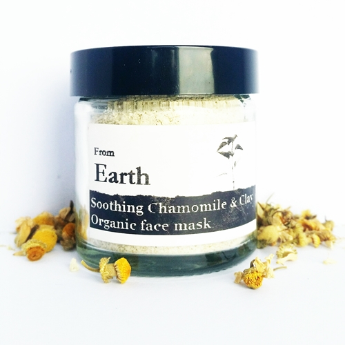 Image of From Earth – Organic Chamomile Soothing Face Mask 30g by Love Thyself Australia