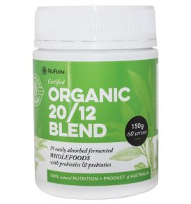 Image of NuFerm - 20/12 Organic Powder Blend 150g by Love Thyself Australia