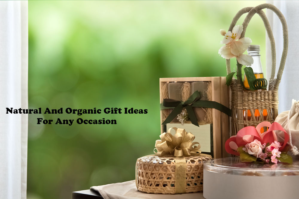 Natural And Organic Gift Ideas For Any Occasion article image by Love Thyself