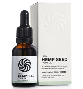Image of The Pure Oil Company - 100% Hemp Seed Facial Oil 25ml by Love Thyself Australia
