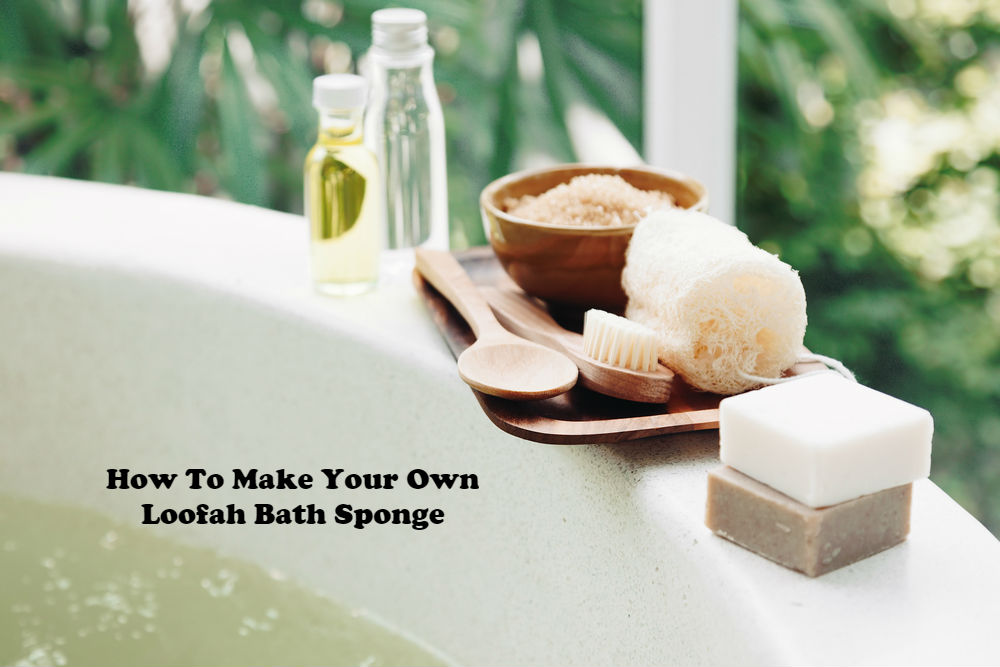 How to Make Your Own Loofah Bath Sponge article image by Love Thyseld