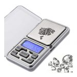 Image of Purely Black – Silver Mini Digital Scale by Love Thyself Australia