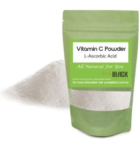 Image of Purely Black – Vitamin C Powder L-Ascorbic Acid 50g Vitamin C Serum DIY by Love Thyself Australia