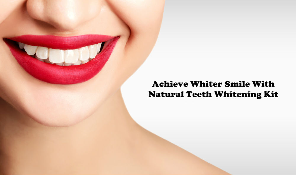 Achieve Whiter Smile With Natural Teeth Whitening Kit article image by Love Thyself