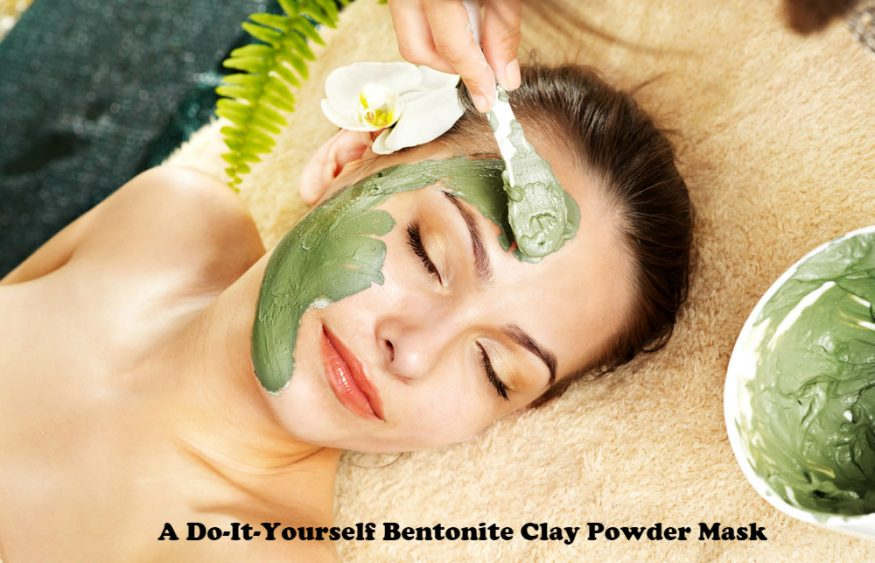 A Do-It-Yourself Bentonite Clay Powder Mask