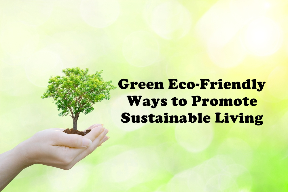 Green Eco-Friendly Ways to Promote Sustainable Living featured image by Love Thyself