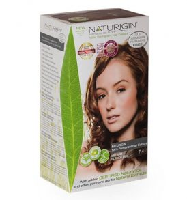 Naturigin – Natural Permanent Hair Colour Medium Blonde Red 7.4 image by Love Thyself Australia