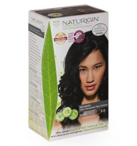 Naturigin – Natural Permanent Hair Colour Black 2.0 image by Love Thyself Australia