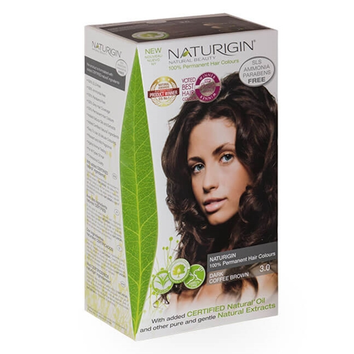 Naturigin – Natural Permanent Hair Colour Dark Coffee Brown 3.0 image by Love Thyself Australia