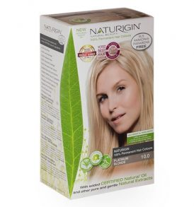 Naturigin – Natural Permanent Hair Colour Platinum Blonde 10.0 image by Love Thyself Australia