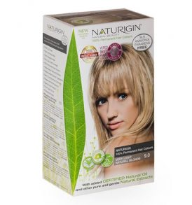 Naturigin – Natural Permanent Hair Colour Very Light Natural Blonde 9.0 image by Love Thyself Australia