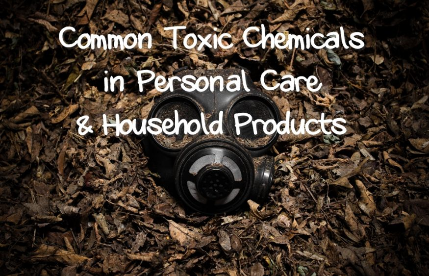 Common Toxic Chemicals in Personal Care and Household Products