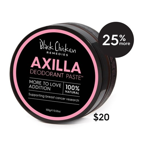 Black Chicken – Axilla Deodorant Paste More to Love Special Edition 100g image by Love Thyself Australia