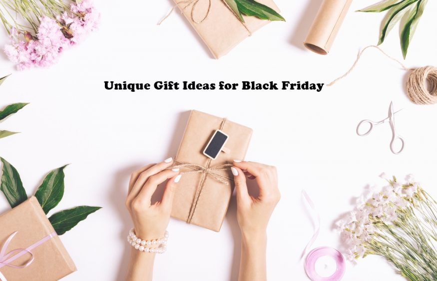 Unique Gift Ideas for Black Friday